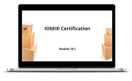 Course 10 IOMI Certification